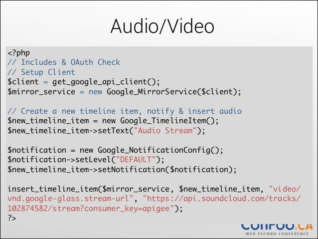 Writing Mirror API and Native Apps for Google Glass
