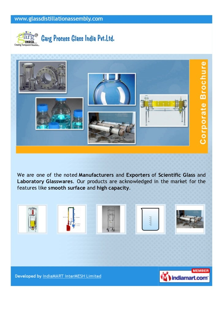 We are one of the noted Manufacturers and Exporters of Scientific Glass andLaboratory Glasswares. Our products are acknowl...