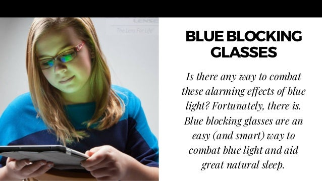 Glasses That Block Blue Light Can Improve Your Sleep