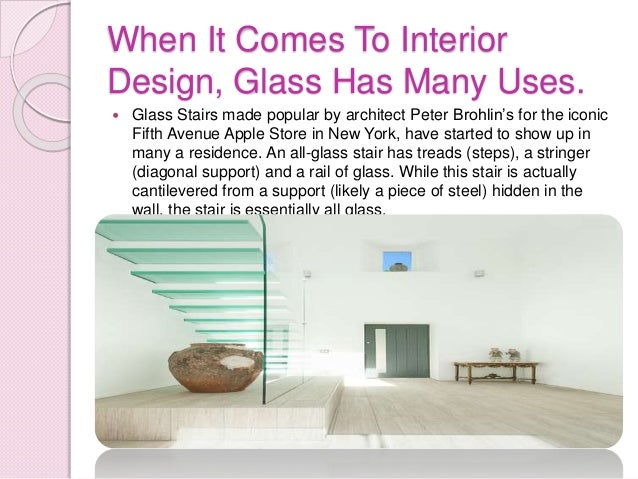 Glass in interior design for Types of lights used in interiors