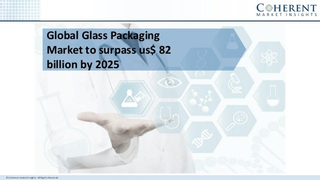 © Coherent market Insights. All Rights Reserved Global Glass Packaging Market to surpass us$ 82 billion by 2025