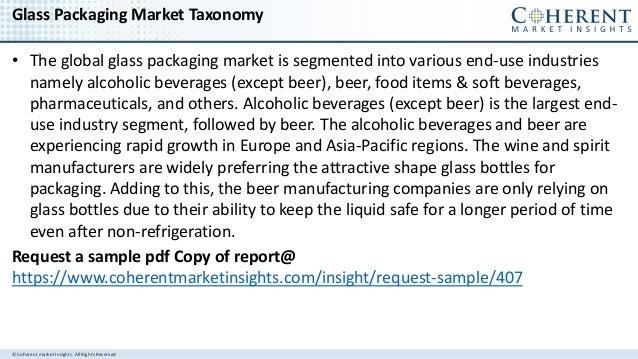 Global Glass Packaging Market to surpass us$ 82 billion by 2025 Slide 3