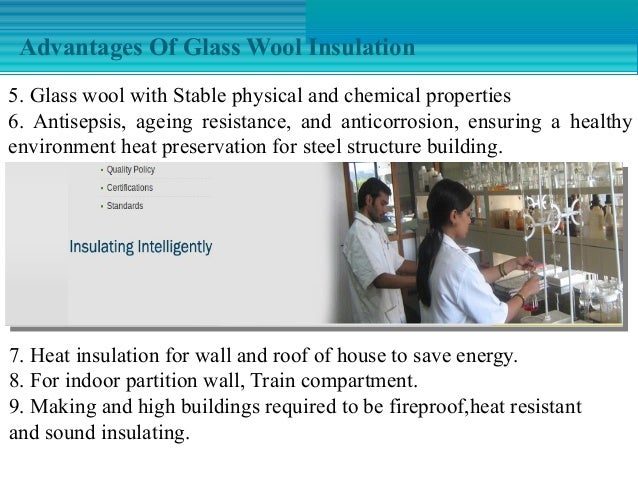 Glass wool insulation and its applications in india for Rockwool insulation properties