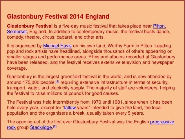 Glastonbury festival 2014 england  2 (英國 2014 格拉斯頓伯里 音樂節 -2) Slide 3