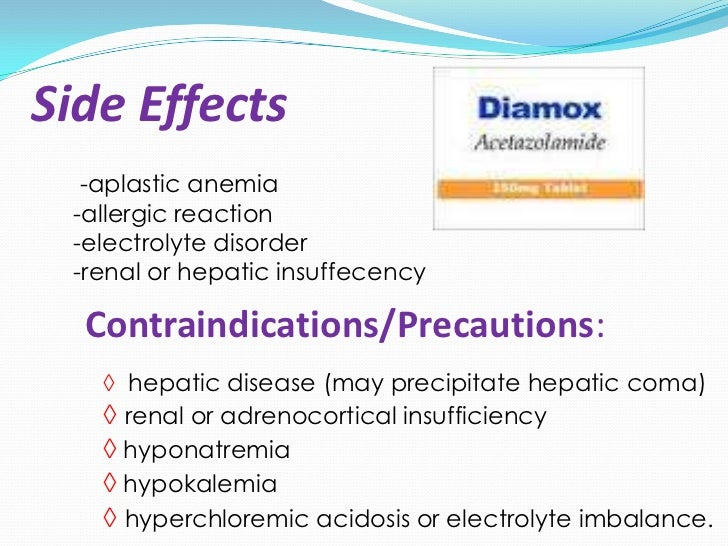 Detrol Side Effects Glaucoma