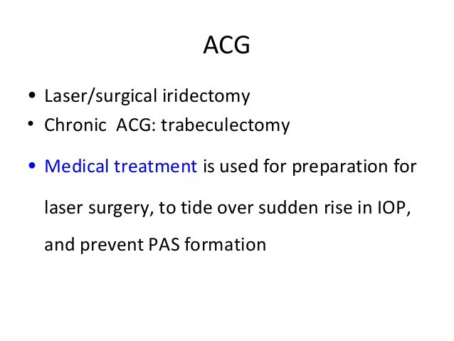 Glaucoma 4 Therapy Of Glaucomas Dr K N Jha 09 11 16