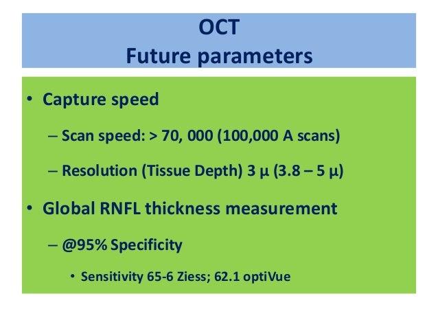 OCTA: SSADA • Split spectrum amplitude decorrelation angiography – Quantitative measure of local circulation in ONH – Diff...