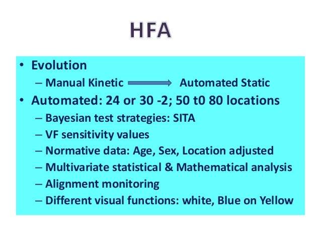 VF Easy App • Similar to 24-2 SITA • Grey scale representation • <3.5 minutes per eye test • Future: – Fewer testing locat...