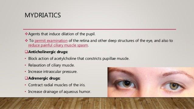 mydriatics agents