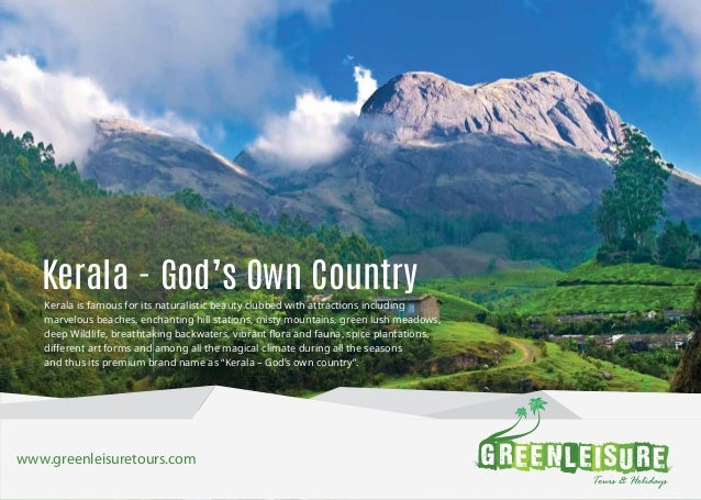 25+ Best Looking For Brochure Of Kerala Gods Own Country