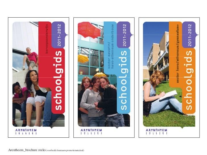 Arentheem_brochure reeks (voorbeeld duurzaam promotiemateriaal)