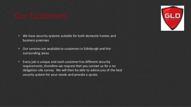 Gld Quote Mesmerizing Gld Security  Professional Security Services In Edinburgh