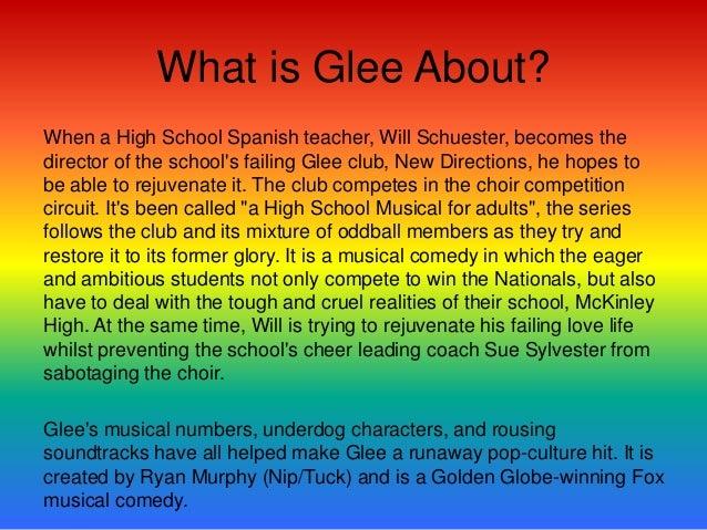 Where Did It All Begin?• Glee began on September 9th 2009• Created by- Ryan Murphy, Brad Fulchuk and Ian Brennan• Ian Bren...