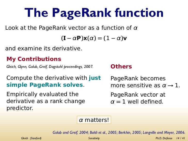 pagerank thesis Sample pages the students should include the signed approval page as page 2 of their dissertation or thesis when submitting the final document to etd proquest.