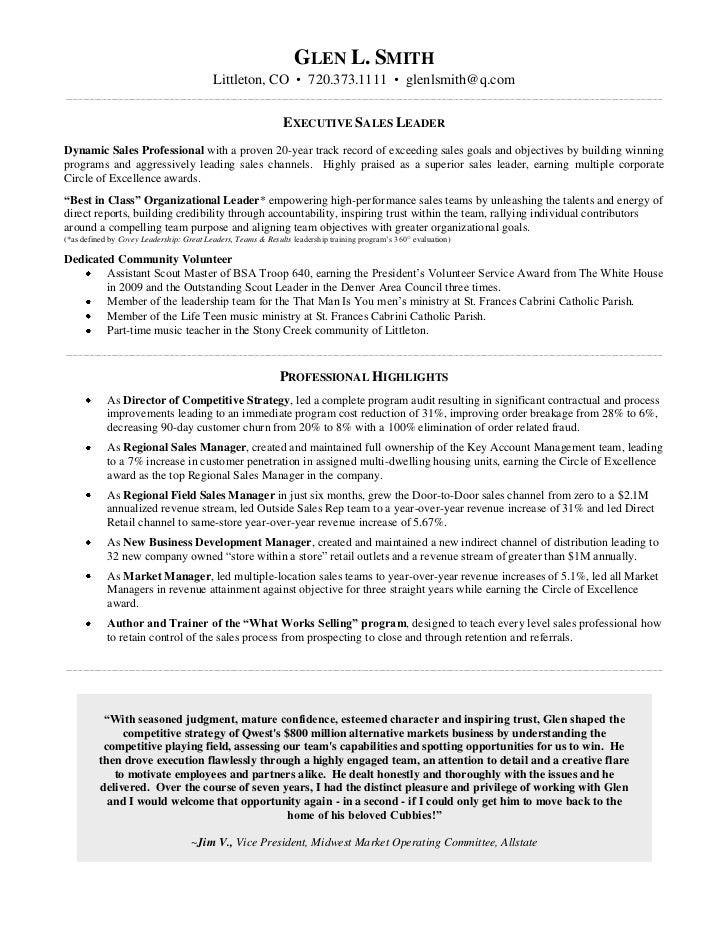 Glen L Smith Linkedin Resume