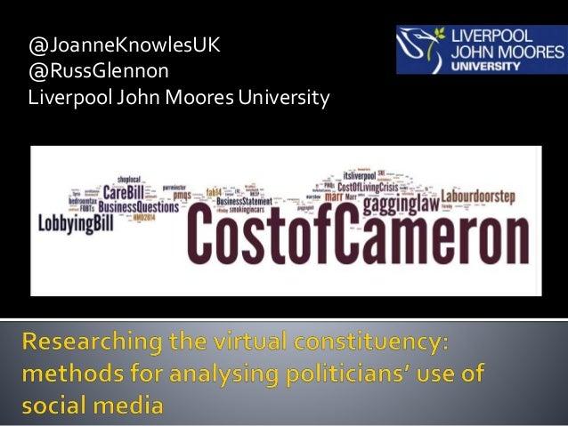 @JoanneKnowlesUK @RussGlennon Liverpool John Moores University