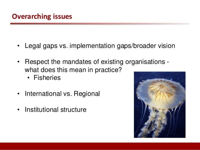 Key questions relating to package deal issues  • Institutional structure  • Compliance mechanism  • Mechanisms for impleme...