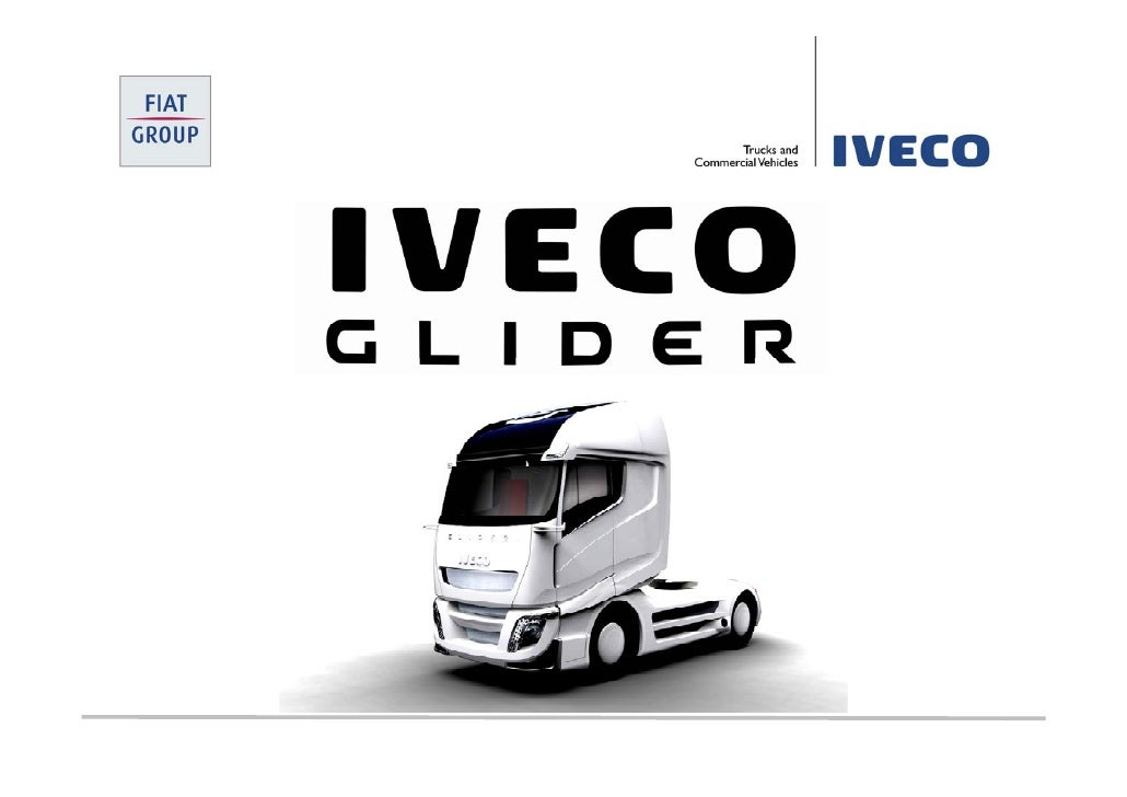 Concept                PRODUCTIVITY  Maximum Productivity with Minimum Externalities                    Iveco Glider Conce...