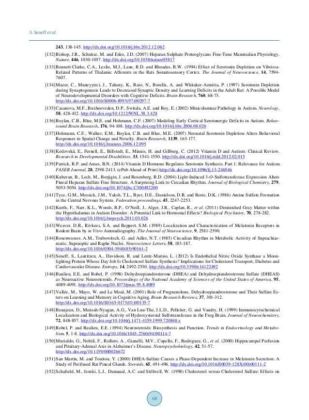 S. Seneff et al. 68 243, 138-145. http://dx.doi.org/10.1016/j.bbr.2012.12.062 [132] Bishop, J.R., Schuksz, M. and Esko, J....