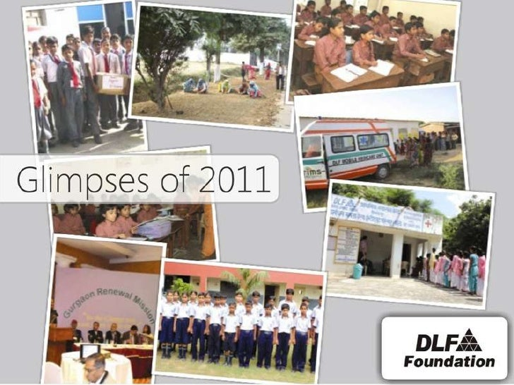 DLF Foundation has been in the forefront of bringing  about social transformation. It has embarked, infast forward mode, t...