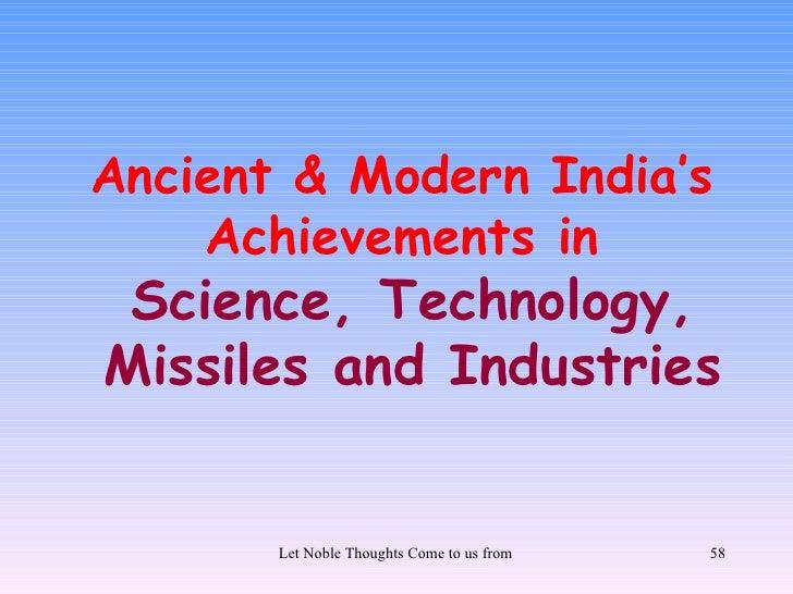 Glimpses of hindu genius