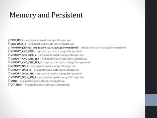 Memory and Persistent