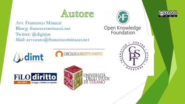 Gli open data nel panorama italiano Slide 2