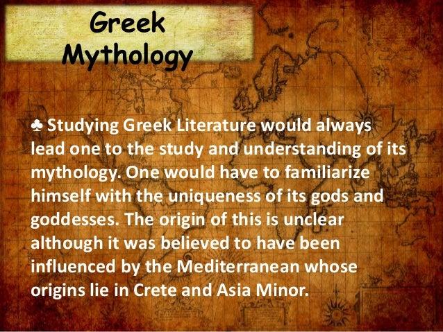 greek literature examples