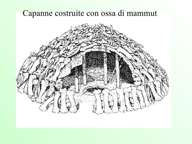 Capanne costruite con ossa di mammut