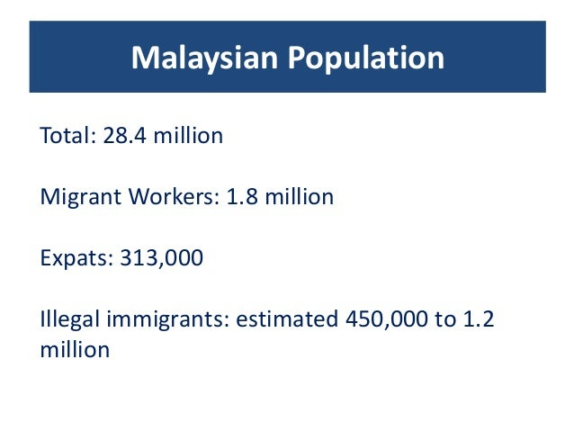threats of illegal migrants to malaysias security Securitized victims: the implications of divergent narratives on undocumented migration and human trafficking undocumented migration and human trafficking are both salient issues in south east asian.