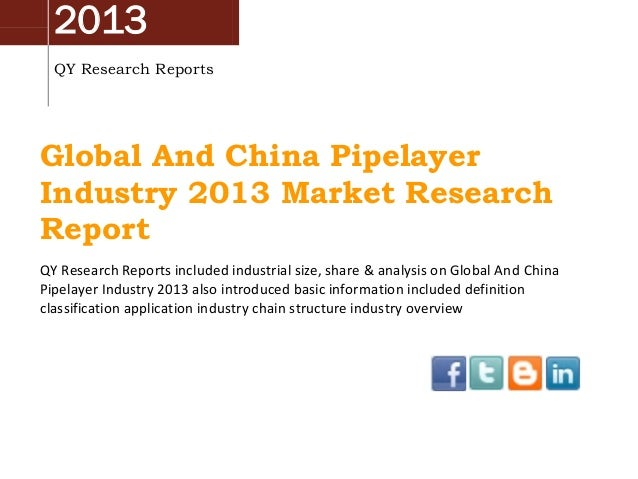 2013 QY Research Reports Global And China Pipelayer Industry 2013 Market Research Report QY Research Reports included indu...