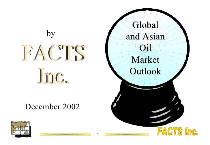 Global and Asian Oil Market Outlook December 2002 FACTS Inc. by