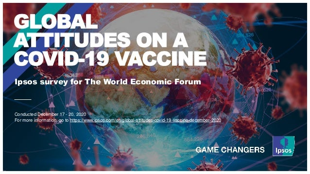 Ipsos survey for The World Economic Forum GLOBAL ATTITUDES ON A COVID-19 VACCINE Conducted December 17 - 20, 2020 For more...
