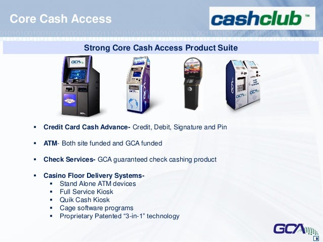 Casino cash advance m resort and casino