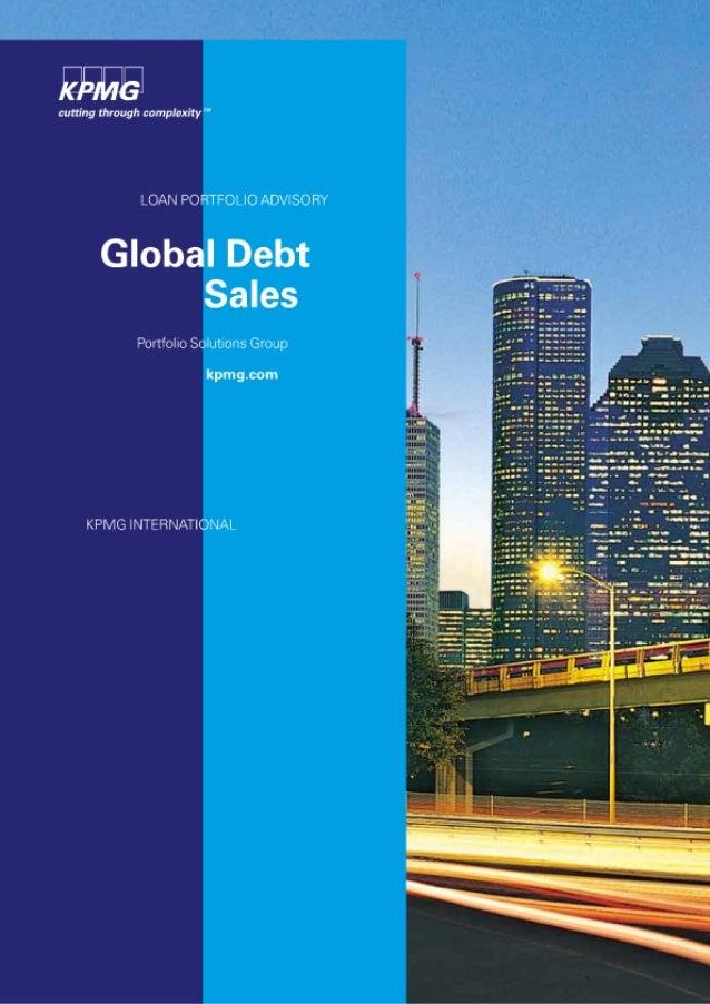 Global debt-sales
