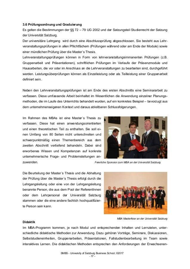 Global Executive MBA - SMBS