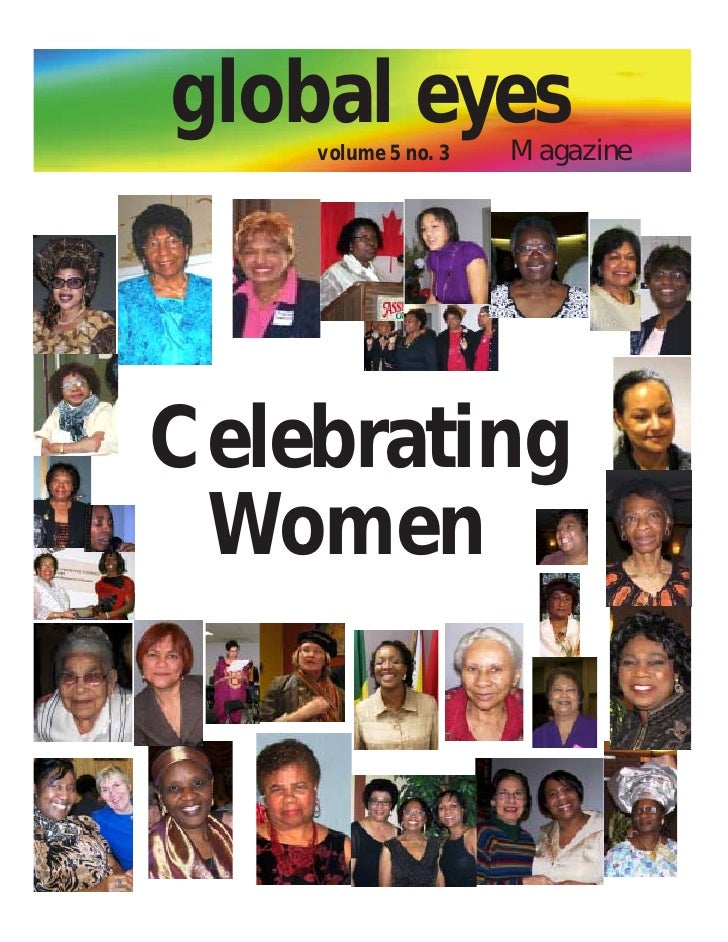 global eyes    volume 5 no. 3   MagazineCelebrating Women