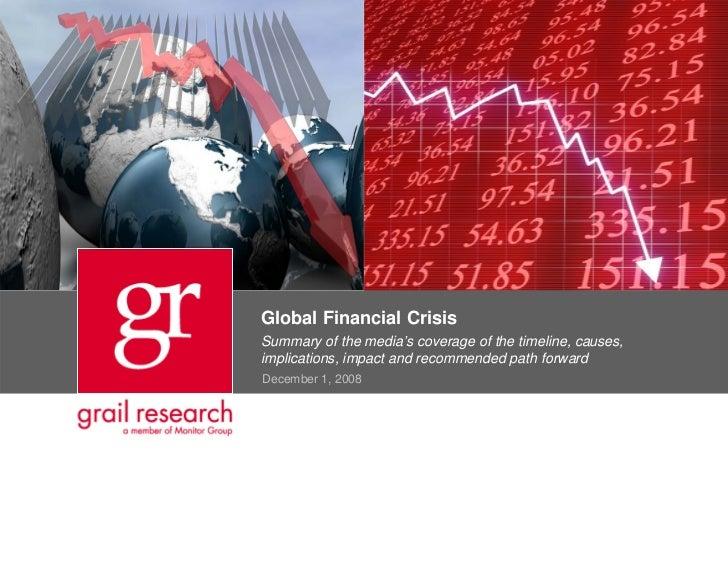 global financial crisis causes pdf