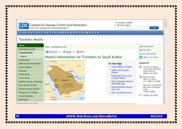 70   WWW.SlideShare.net/AhmedRefat   04/2013