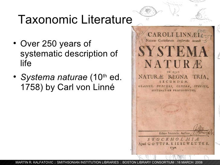 Global Library of Life: The Biodiversity Heritage Library Slide 3