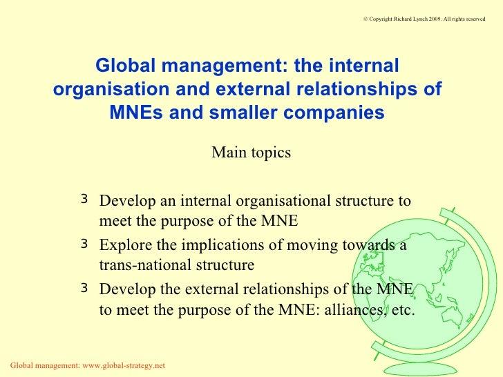 Internal Relationship Management