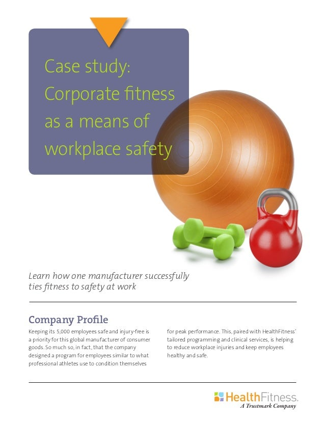 Company Profile Keeping its 5,000 employees safe and injury-free is a priority for this global manufacturer of consumer go...
