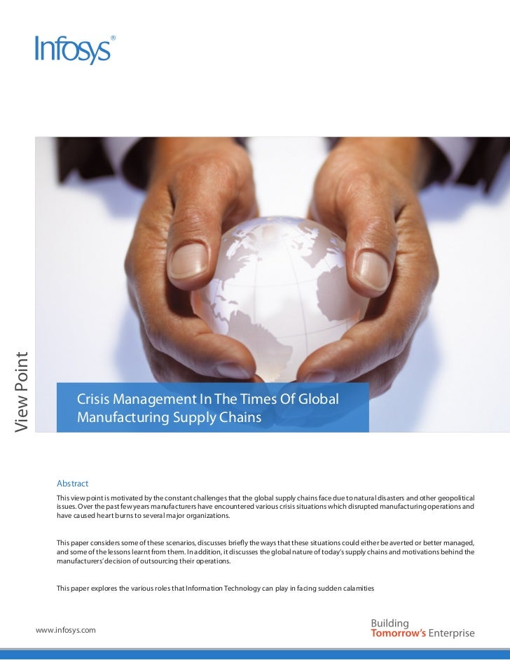 Image AreaView Point                        Crisis Management In The Times Of Global                        Manufacturing ...