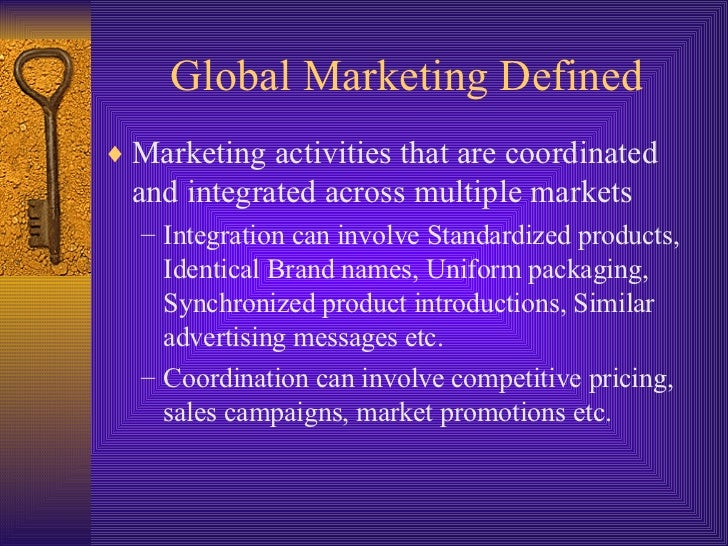 an analysis of the term international marketing Start studying international marketing chapter 8 learn vocabulary, terms, and more with flashcards, games, and other study tools.
