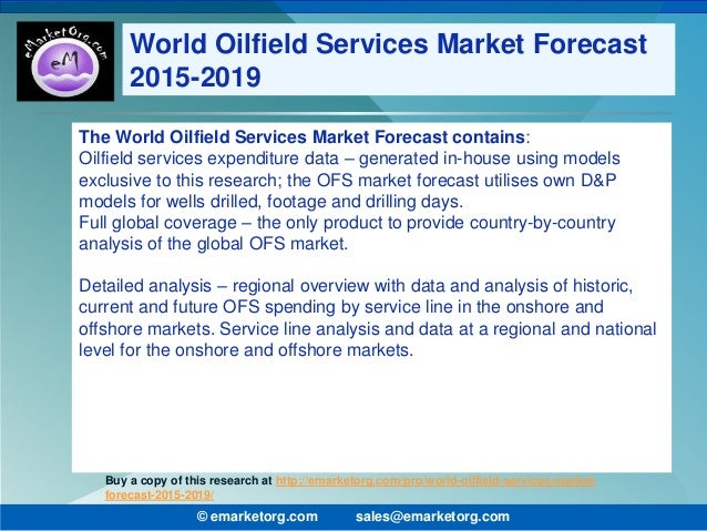 oilfield services industry analysis The purpose of this report is to define, describe, and forecast the african oilfield services market it involves a deep-dive analysis of the market segmentation.