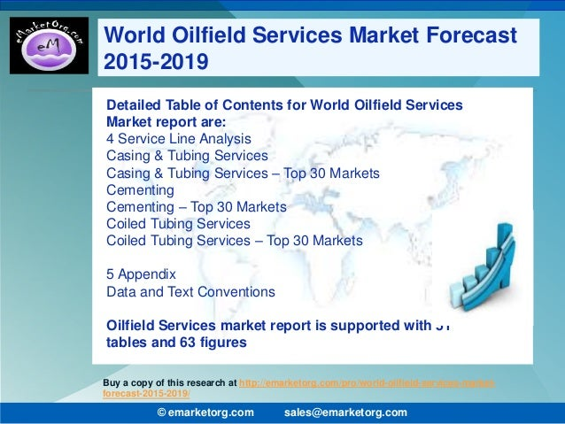 oilfield services industry analysis The report, global oilfield services market 2017-2021, has been prepared based  on an in-depth market analysis with inputs from industry.
