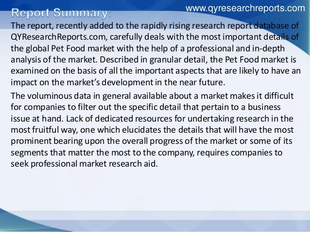 global pet food market growth trends The global pet food market is anticipated to register a significant cagr of 503%, and reach a market value of over usd 1032 billion by 2023 the increasing trend of.