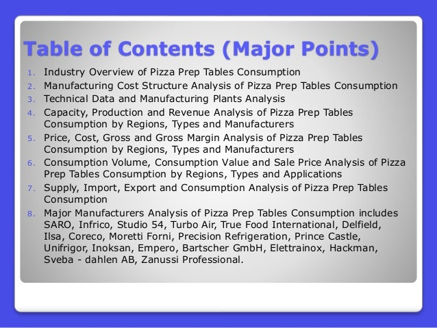 analysis of the pizza industry Strengths in swot analysis of pizza hut  pizza hut has a premium positioning in customer's mind because it was the first entrant to start pizza franchise in india the promotions and brand equity of pizza hut is better than competitors another strength of pizza hut is the range of italian food that it has the pizza and pasta range is excellent and pizza hut delivers on its promise of.