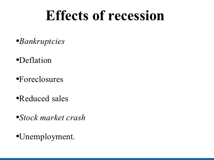 the effects of global recession in Impact and strategies for human resources management in nigeria  global  economic recession describes the growing economic, political, technological,  and.