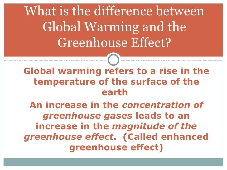 an overview of the global warming and the greenhouse effect Vital signs of the planet: global climate change and global warming  a layer  of greenhouse gases – primarily water vapor, and including much smaller  amounts of carbon  the panel's full summary for policymakers report is online  at.